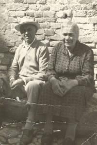 Sante e Antonia, i genitori di Nicola