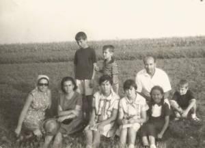 La famiglia con il fratello Guerriero