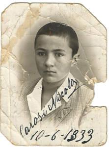 il piccolo Nicola il 10-06-1933